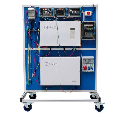 Training Stand Energy Management for Grid-connected Systems
