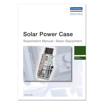 Experiment Manual Solar Power Case